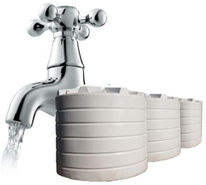 Rainwater Tap and Tank